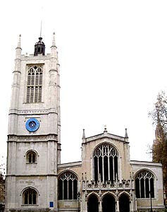 St Margaret's church -- west front