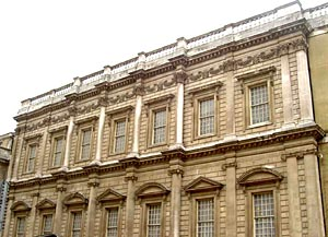 East face of the Banqueting Hall
