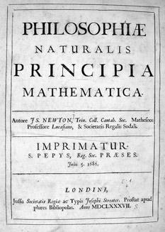 Principia Mathematica title page