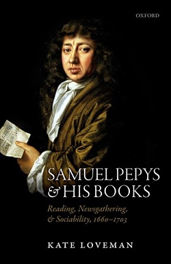 'Samuel Pepys and His Books' cover